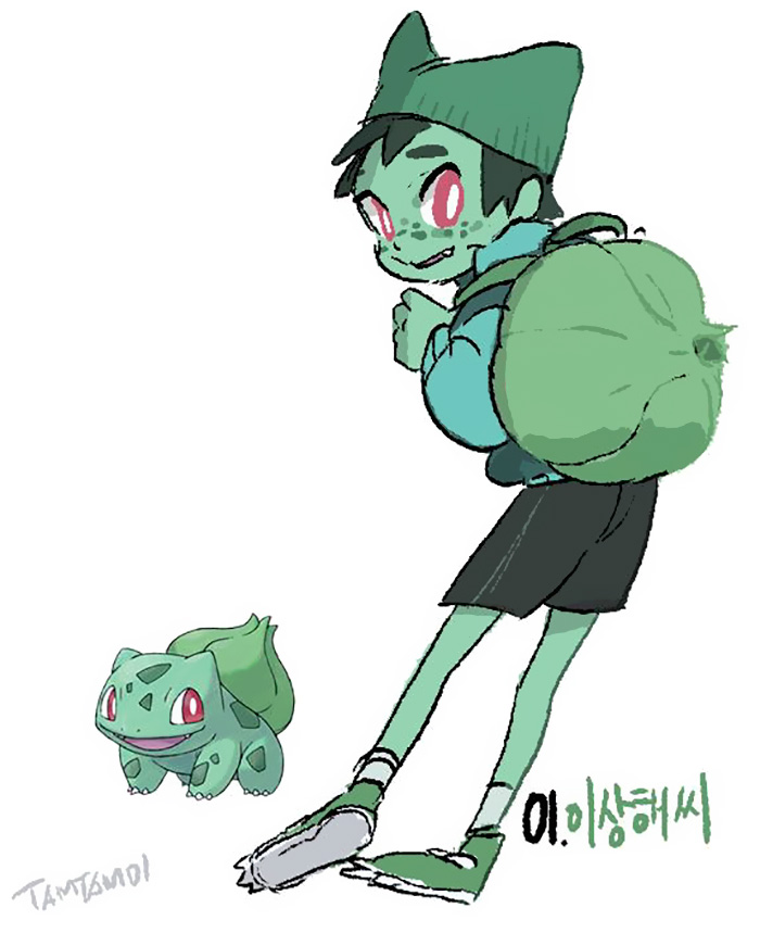 pokemon-umanizzati-persone-humanized-bulbasaur-backpack
